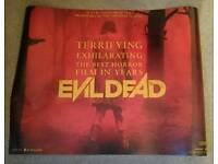X2 Cinema posters for the Evil Dead remake