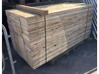 🌳Wooden Scaffold Style Boards / 225 x 38mm x 2.4m