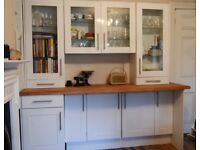 Shaker style Kitchen Units, worktops and appliances for sale