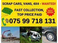 Sell My Car, Cars Wanted, Scrap My Car