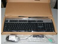 HP Keyboard & Optical Mouse