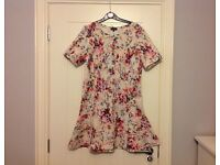 Warehouse Size 12 Floral Print Dress
