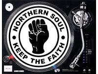 NORTHERN SOUL MUSIC PRE-LOADED ON A USB FLASH DRIVE IN MP3 FORMAT
