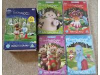 In the night garden 4 DVD box set