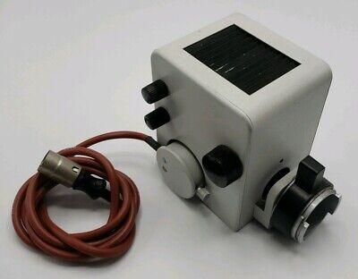 Leitz Wetzlar Microscope Lamp Housing Light House Illuminator