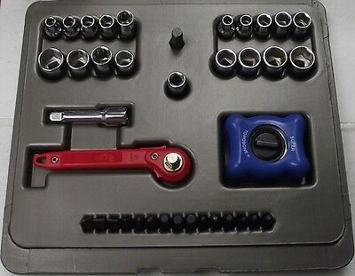 Ratchkey Hk-38 38 Piece 14 Drive Socket Set With Williams Palm Ratchet