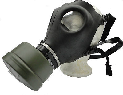 NEW! Premium Gas Mask w/Genuine Military Sealed NATO Filter Full NBC Protection