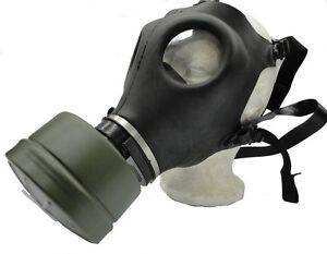 Israeli Gas Mask w/ Genuine Military Sealed NATO Filter Full NBC Protection NEW