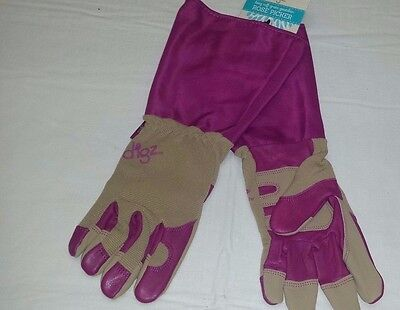 - Large Digz Women's Rose Picker Long Cuff Garden Gloves Gardener Landscaping