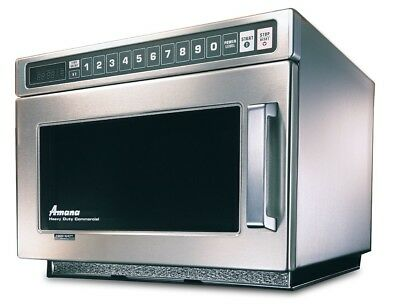 Amana Hdc514 Stackable Commercial Microwave With Push Button Controls 220v 50hz