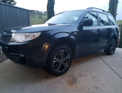 2009 subaru forester Newtown Inner Sydney Preview