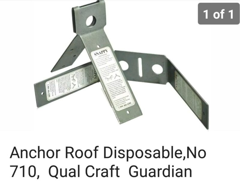 Guardian Disposable Roof Anchors 25 Count Box With Nails