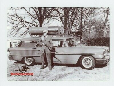 Winchester Guns and Ammo METAL Sign - Ammo Wagon