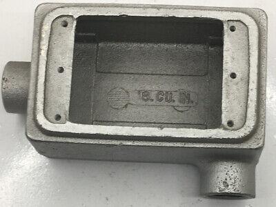 Fsl-1-50 Appleton 12-inch Gray Iron Type Fsl Shallow 1-gang Cast Device Box