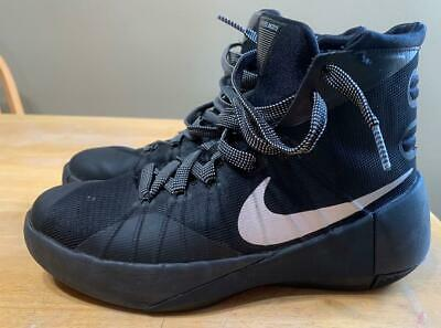 """A*"" Nike hyper dunk SIZE 5Y boys basketball shoes black 759974–001"