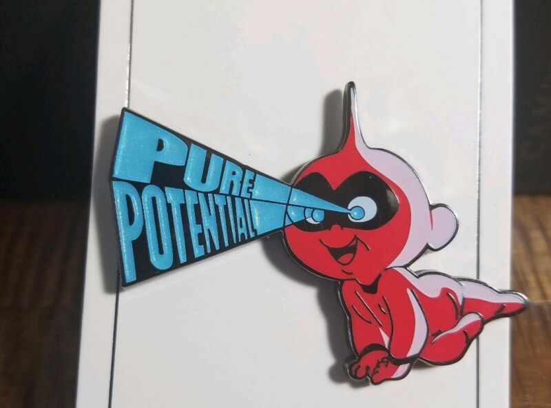"""Disney Pin """"Parks Collection"""" Incredibles Jack Jack """"Pure Potential"""" #129251"""