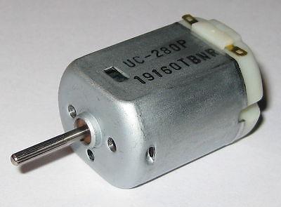 Uc-280p Electric Motor - 12vdc 9000 Rpm - Knurled Shaft Automotive Dc Motor
