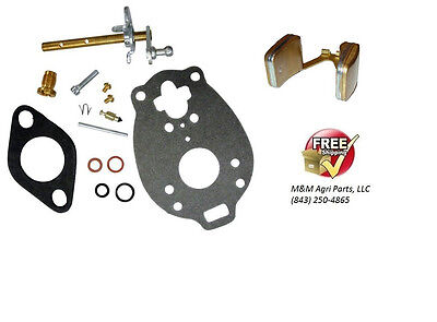 Carburetor Kit Float Ford Naa Jubilee 600 700 Tractor Tsx428 Tsx580 Carb