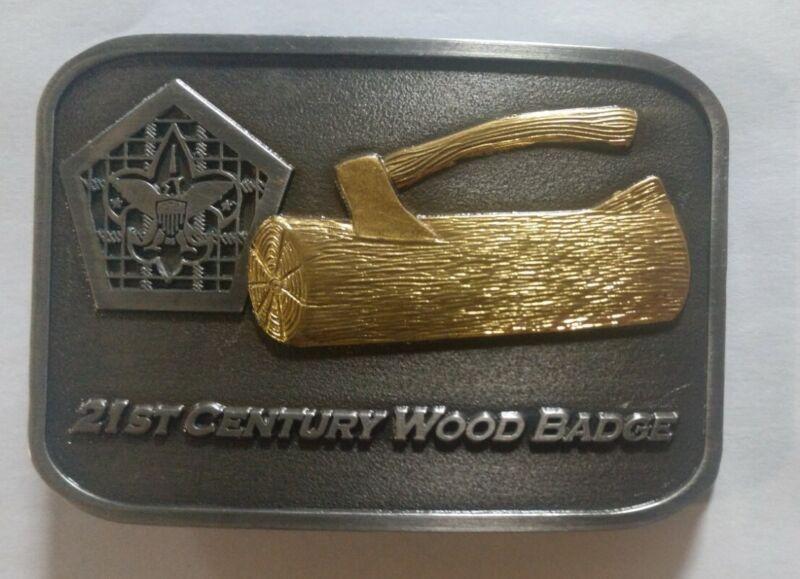 Wood Badge 21st Century Belt Buckle. Boy Scouts of America BSA