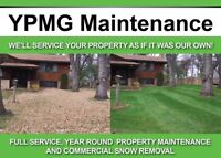 Booking Fall Clean Ups Resodding Grass Cutting & Snow Plowing