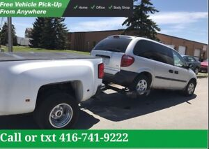 WE PAY TOP CASH FOR SCRAP AND USED CARS