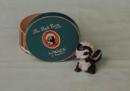 Wade Flower Whimsies Disney Hat Box Series Figurine England Lady & The Tramp  #9