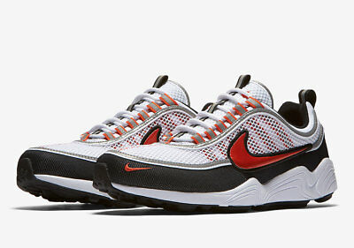 - NIB MEN'S NIKE 926955 106 AIR ZOOM SPIRIDON '16 WHITE/ORANGE SNEAKERS SHOES $160