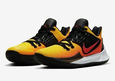Nike Kyrie Low 2 Basketball Shoes Sunset Media Day AV6337-800 Men's NEW