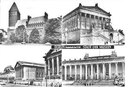 Hauptstadt Vier (AK, Berlin - Hauptstadt der Museen, vier Abb., 1969)