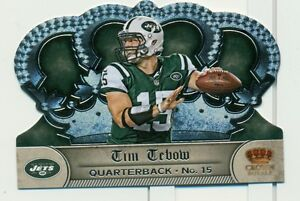 2012 CROWN ROYALE TIM TEBOW DC BASE CARD  #59