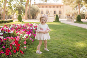 Vestido dress de bebé niña Dolce Petit ceremonia 2100vb