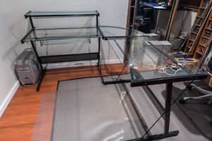 Glass Corner Desk Pagewood Botany Bay Area Preview