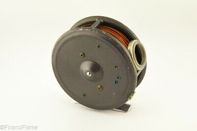 """Vintage English Hardy Brothers 3 3/8"""" St George Antique Fly Fishing Reel HR12"""