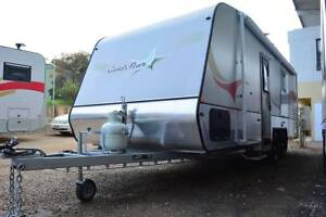 EOFY SALE - Goldstar RV 22FT (Hot Water System, Fridge, A/C, Awning) Berkeley Vale Wyong Area Preview