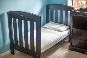 Boori Country Cot, with Mattress and 2-Drawer Chest Changer Hallett Cove Marion Area Preview