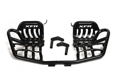 XFR Pro Peg II Foot Peg Nerf bars Heel Guards Yamaha RAPTOR 700 700R PSE208-MBK