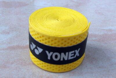 YONEX  1 St. GELB/BLAU Griffbänder Overgrip Tennisschläger Badminton Neu