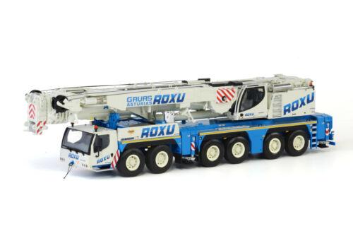 Liebherr LTM 1350-6.1 Mobile Crane - Roxu - WSI 1:50 Scale Model #01-1526 New!