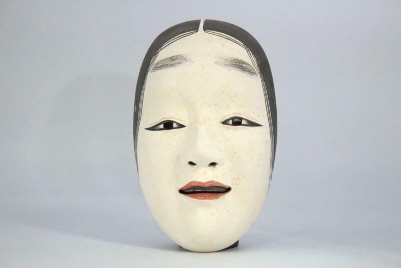 Japanese Wooden Noh Mask dignified MSK226
