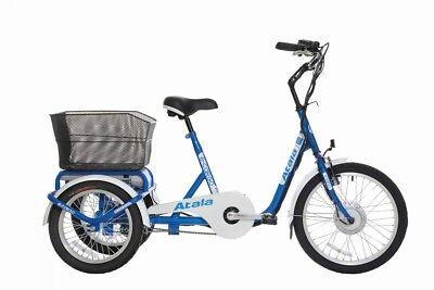 ELECTRIC BIKE EBIKE UNISEX ATALA E-CARGO 2018 3 WHEELS ECOLOGIC 418WH pedaling