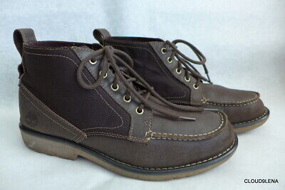 Timberland Earthkeepers City Escape Brown Leather Chukka Boots Men's 9/ 43 EUR
