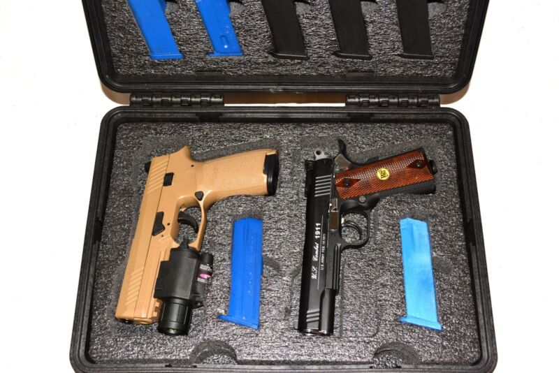 New 4 Tactical Pistols mags foam fits your Harbor Freight Apache 3800 case