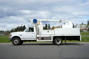 1997 Ford F-Super duty dually Bucket Truck
