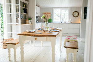 Table-Benches-Large-Dining-Shabby-Chic-Farmhouse-Bench-Kitchen-Pine