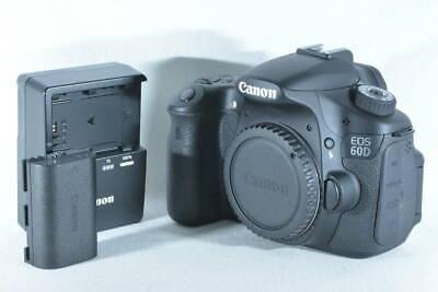 Canon EOS 60D 18.0MP Digital SLR Camera Black Body (ny723)