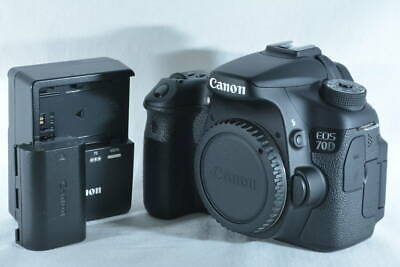 Canon EOS 70D 20.2MP DSLR Digital SLR Camera Body (ny577)