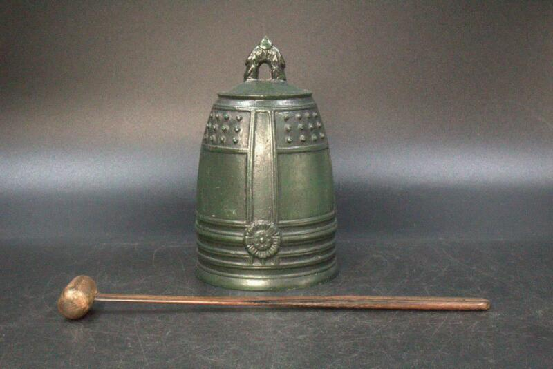 Japanese Temple Buddhist Bronze bell Buddhism BT165
