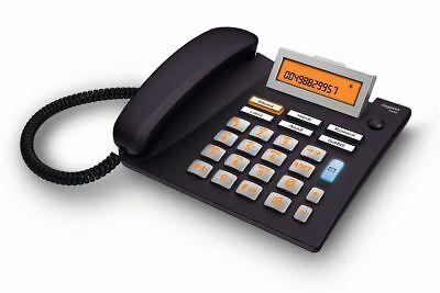 Gigaset 5040 anthrazit Großtastentelefon Hörgeräte Kompatibel Notruf Analog