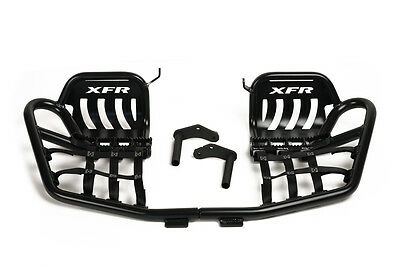 XFR Pro Peg II Foot Peg Nerf bars W Heel Guards Yamaha BLASTER 03-06 PSE205-HGB