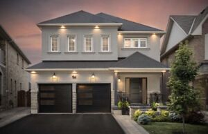 Stunning!!! Detached 4 + 1 bdrm home for sale in vaughan